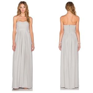 Revolve Parker Black Bayou Gown in Gray